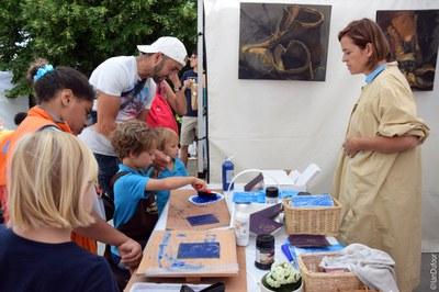 Sibylle du Peloux, peintre (2)
